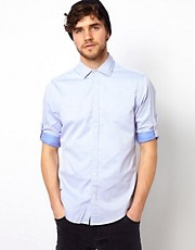Scotch &amp; Soda Shirt With Rolled Sleeves