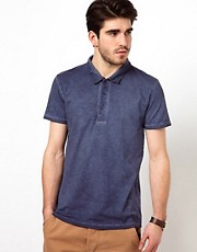 Esprit Polo With Enzyme Wash