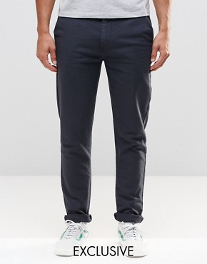 Brooklyn Supply Co Skinny Chinos in Black