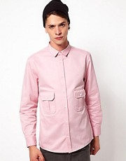 Self Shirt with Front Pocket