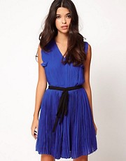 Jovonna Pleat Dress