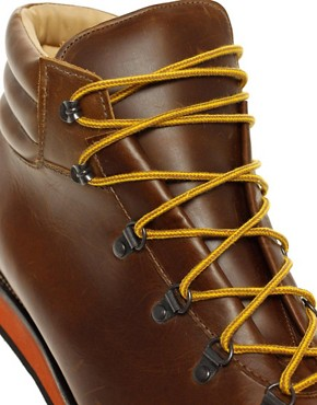 Image 2 ofASOS Made In England Hiking Boots