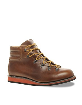 Image 1 ofASOS Made In England Hiking Boots