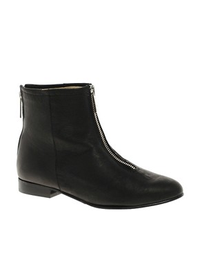 Image 1 ofD.Co Copenhagen Zip Front Ankle Boot