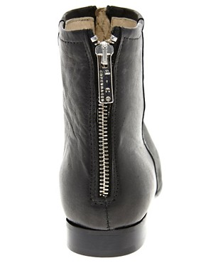 Image 2 ofD.Co Copenhagen Zip Front Ankle Boot