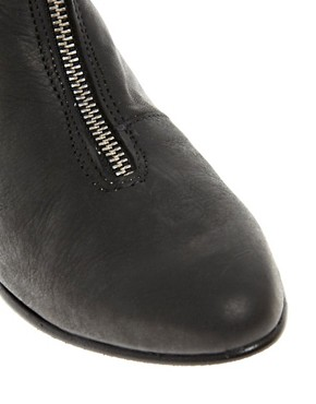 Image 4 ofD.Co Copenhagen Zip Front Ankle Boot