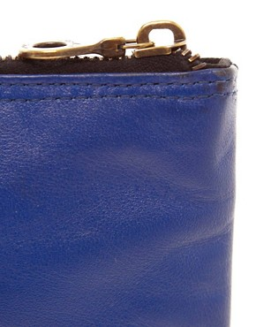 Image 4 ofJas MB Leather Bright Clutch Bag