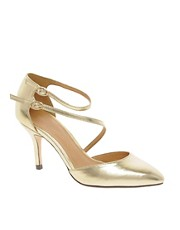 ASOS SHAKEN Metallic Pointed Heels