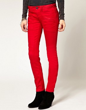 Image 1 ofFree People Coloured Skinny Jean