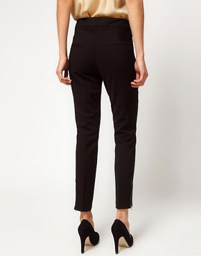 Image 2 ofASOS Premium Super Skinny Pintuck Trouser