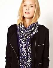 Whistles Abstract Animal Scarf