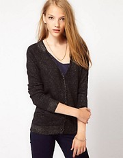 See U Soon Metallic Mix Cardigan