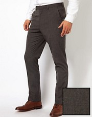 ASOS Slim Fit Suit Trousers in Fleck Fabric