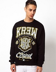 Kr3w Crew Sweatshirt Champ Logo