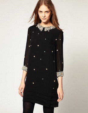 Image 1 ofWhistles Embellished Dress