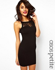 ASOS PETITE Exclusive Fringe Panel Bodycon Dress