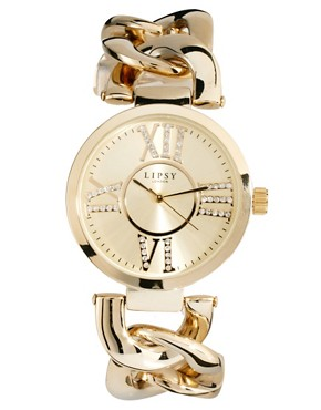 Image 1 ofLipsy Gold Alloy Bracelet Watch
