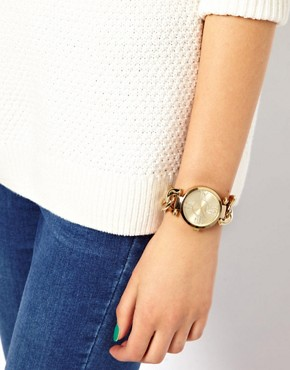 Image 3 ofLipsy Gold Alloy Bracelet Watch