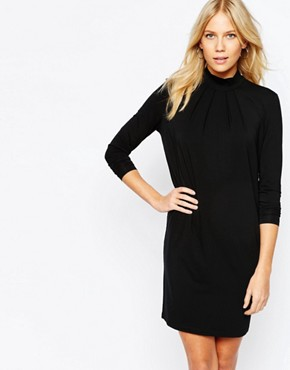 Y.A.S Othel Dress with Funnel Neck