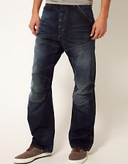 G-Star Jeans Loose Cleve Track Destroy