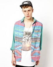 Insight Shirt Satans Taco Aztec Print