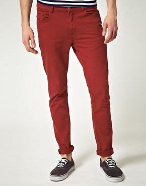 Image 1 ofRiver Island Kerseus Blood Skinny Fit Jeans