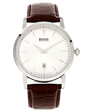 Hugo Boss Leather Watch
