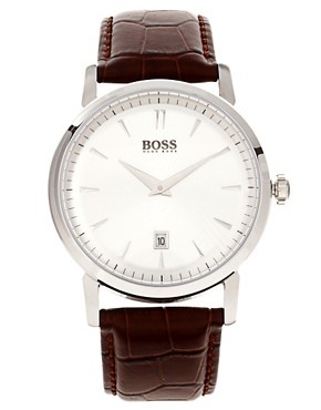 Image 1 ofHugo Boss Leather Watch