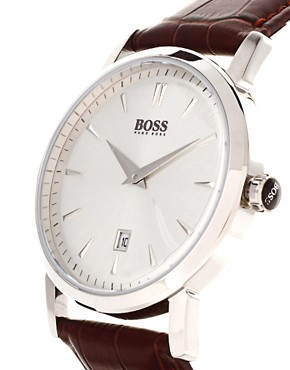Image 2 ofHugo Boss Leather Watch