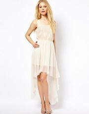 AX Paris Dipped Hem Chiffon Dress