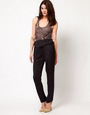 IRO Peplum Peg Trousers