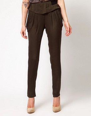 Image 4 ofIRO Peplum Peg Trousers