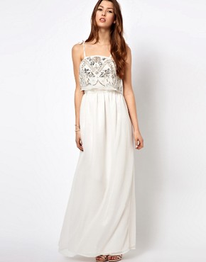 Image 1 ofFrock And Frill Maxi Dress