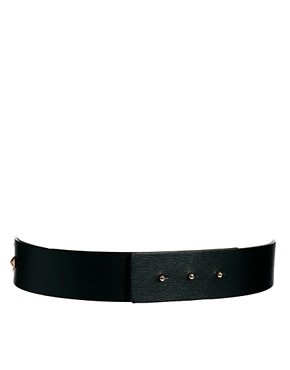Image 3 ofASOS spiked multi plate waist belt