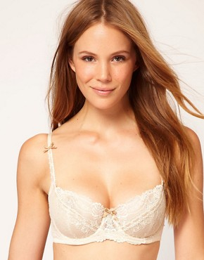 Image 1 ofElle Macpherson Intimates Artistry Lace Padded Bra