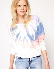 Textile Elizabeth and James Sweatshirt With Tie Dye