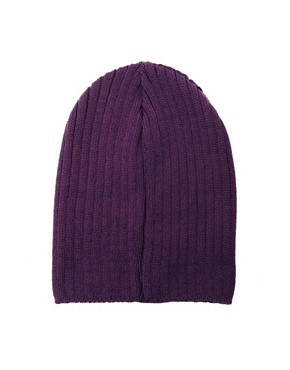 Image 2 ofASOS Short Rib Knit Beanie