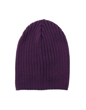 Image 4 ofASOS Short Rib Knit Beanie