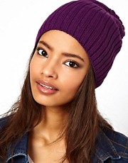 ASOS Short Rib Knit Beanie