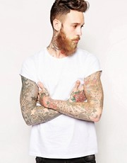 ASOS T-Shirt With Crew Neck And Roll Sleeve