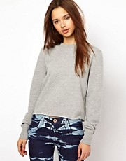 River Island Crop Sweat
