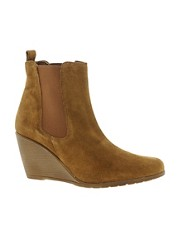 Oasis Izzy Elastic Wedge Boot