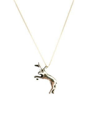 Image 1 ofLaura Lee Rabbit Charm Necklace