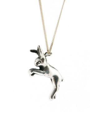 Image 4 ofLaura Lee Rabbit Charm Necklace