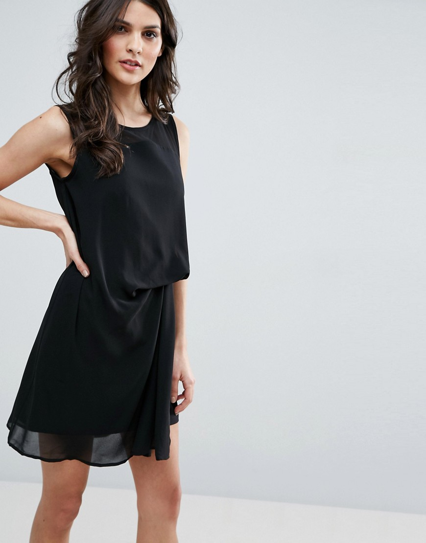 Jovonna Flash Back Dress - Black