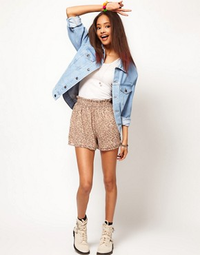 Image 4 ofASOS Denim Jacket in Oversized Boyfriend Fit