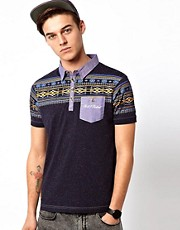 Rock &amp; Revival Aztec Polo Shirt