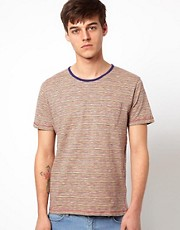 Selected T-Shirt With Thin Stripe
