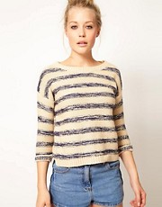 Warehouse Slubby Stripe Jumper