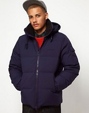 Carhartt Down Filled Jacket with Removable Hood